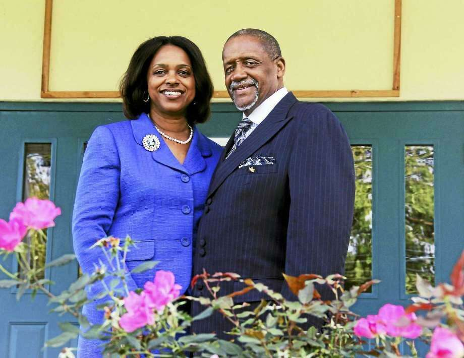 Bishop W. Vance Cotten, co-pastor of Shiloh Baptist Church on Butternut Street, will be sworn in next week to the Middletown Common Council. He is filling the vacancy on the panel created when former majority leader Thomas Serra died Feb. 10. At left is his wife, the Rev. Dr. Kim L. Cotton. Photo: File Photo