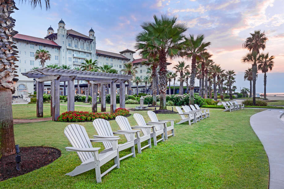 PHOTOS: Hotel Galvez through the yearsHotel Galvez & Spa was built in 1911 and celebrated 108 years in operation June 10. >>>See more for a look back at the historic beachfront hotel... Photo: Courtesy Of Hotel Galvez & Spa