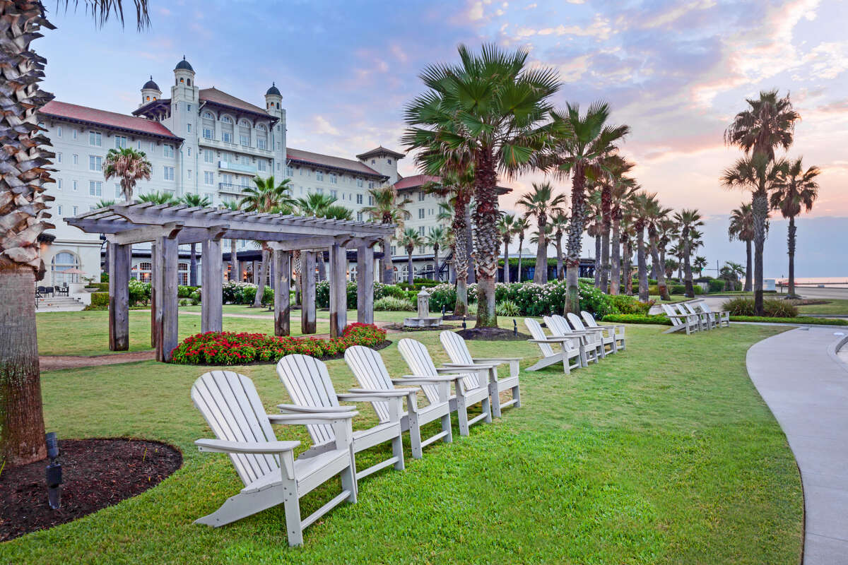 PHOTOS: Hotel Galvez through the years Hotel Galvez & Spa was built in 1911 and celebrated 108 years in operation June 10.>>>See more for a look back at the historic beachfront hotel...