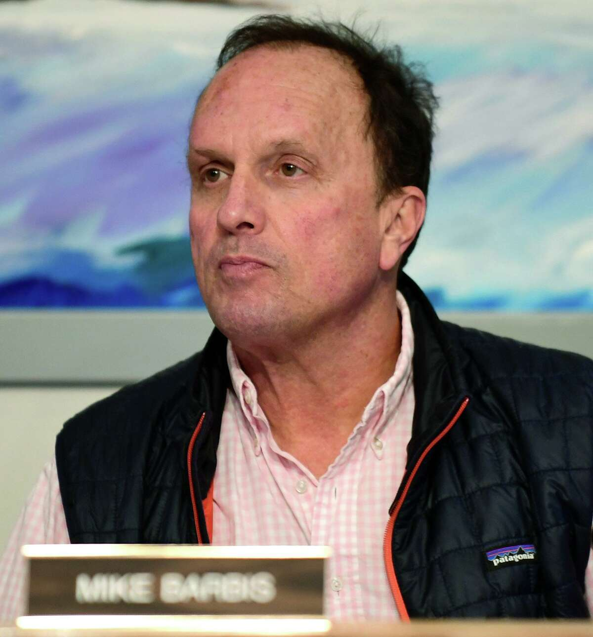 Norwalk Board of Education Chairman Mike Barbis