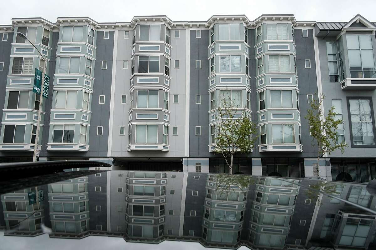 The Harrison Court Live/Work Housing Community on Harrison Street in San Francisco, Calif., on Wednesday April 3, 2019.
