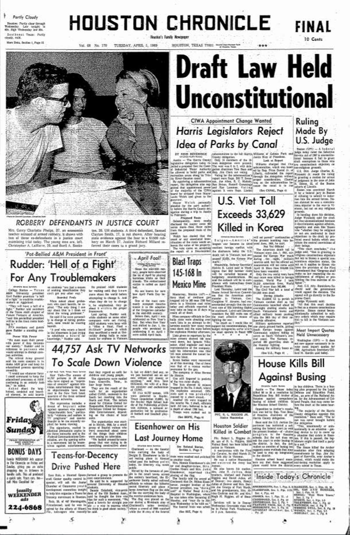 April 1, 1969