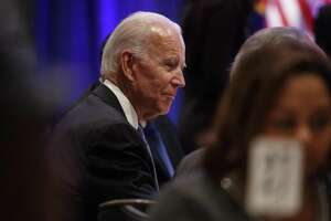 Former Vice President Joe Biden at the National Action Network's annual Martin Luther King Jr. breakfast event, Jan. 21. At least two women have accused Biden of inappropriate touching.