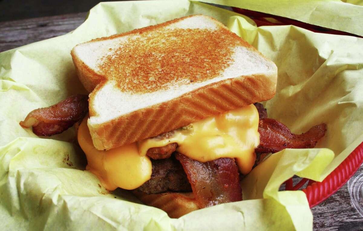 The Texas Kicker burger at Chunky's Burgers & More
