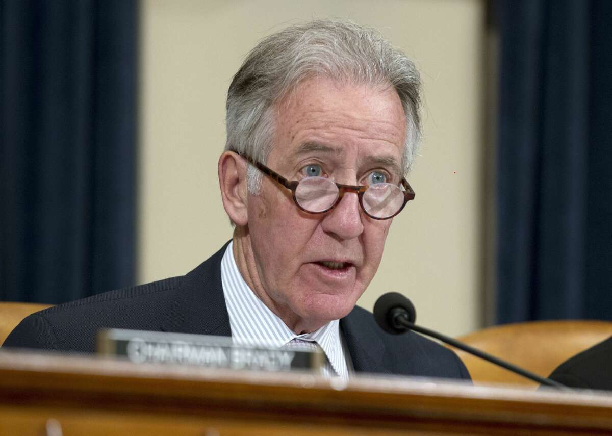 Massachusetts Rep. Richard Neal formally asked the IRS to provide six years of President Donald Trump's personal and business tax returns as Democrats try to shed light on his complex financial dealings and potential conflicts of interest.