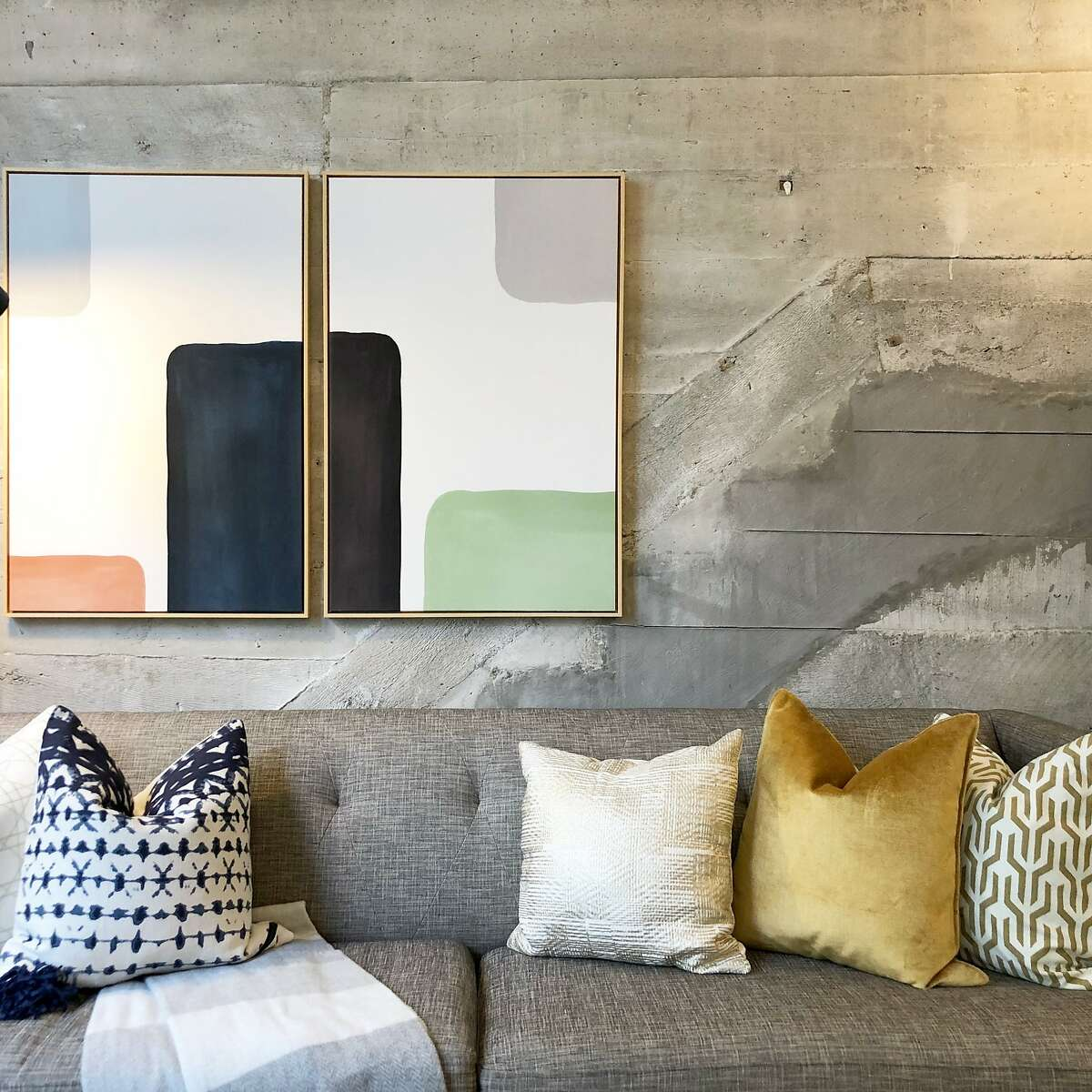 """Real estate listings that mentioned """"exposed concrete"""" were more common in the San Francisco metro area than anywhere else, according to Zillow. This condo for sale at 6 Mint Plaza in San Francisco advertises exposed concrete."""