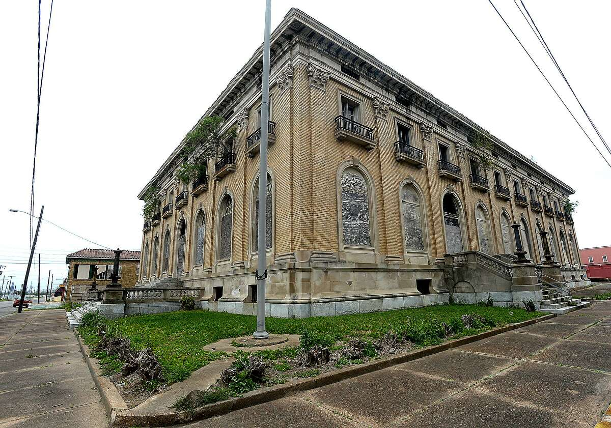 Motiva is in the process of purchasing the historic and long-abandoned Adams and Federal (seen here) Buildings on Austin Street in downtown Port Arthur. The sites will be used for needed office space near the plant. Motiva expects to move 500 employees into the facilities after renovation and repairs are made. They plan to maintain the exterior to reflect the historic feel of the downtown area. Photo taken Wednesday, April 3, 2019 Kim Brent/The Enterprise