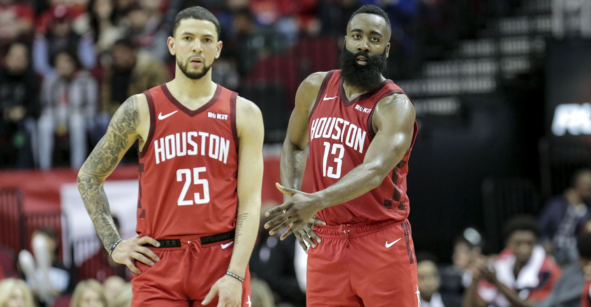 Rockets guard Austin Rivers ruled out for Game 1 vs. Warriors with illness