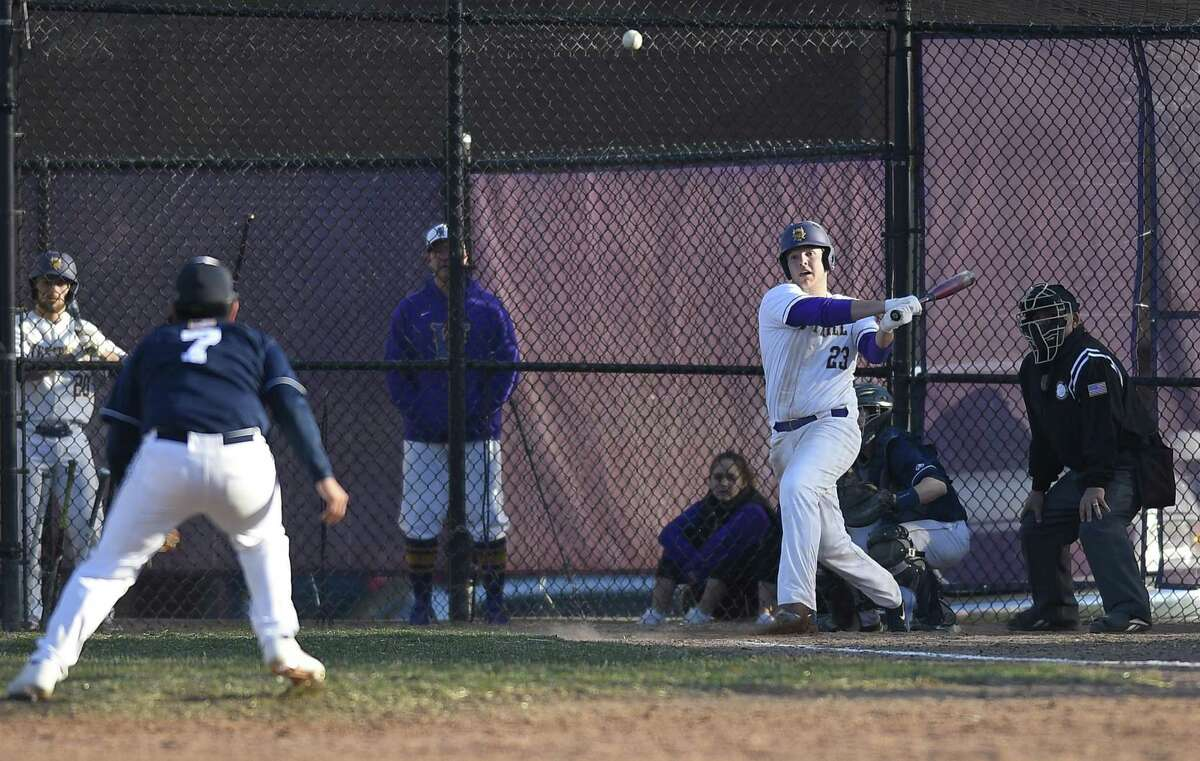 Westhill defeated Immaculate 8-7 in the Vikings baseball home opener Wednesday, April 3 ,2019 in Stamford, Connecticut.