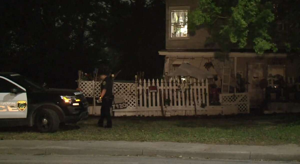 A woman was killed Thursday morning after her neighbor stabbed her during an argument on Houston's east side, police said.