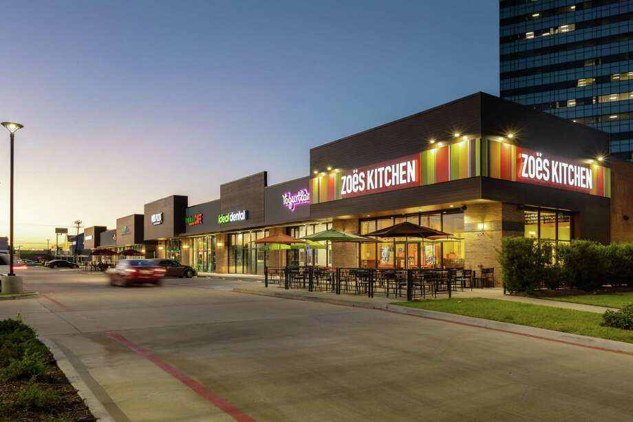 Citywest Retail Center, a 22,711-square-foot shopping center at 2550 CityWest Blvd. and 10550 Westheimer in Westchase, has changed hands. Edge Realty Capital Markets represented the seller, American Land Development. Photo: Edge Realty Capital Markets / Jerry B Smith Photography