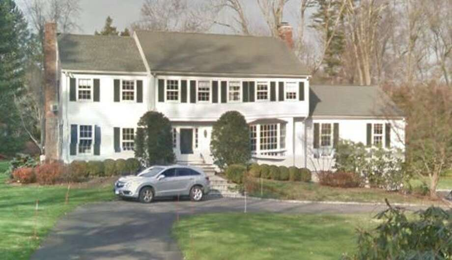 313 Wahackme Road in New Canaan sold for $1,125,000. Photo: Google Street View