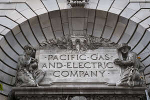 The exterior of Pacific Gas and Electric Corp. headquarters in San Francisco on Jan. 14, 2019.