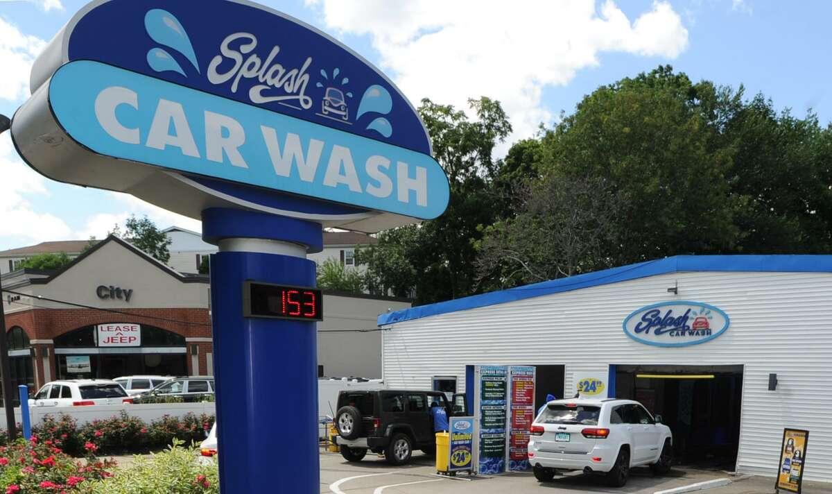 A Splash Car Wash is located at 625 W. Putnam Ave. in Greenwich, Conn.
