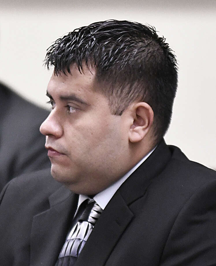 Edgar Mario Moreno listens to testimony in his sexual assault trial in the 111th District Court, Tuesday, April 2, 2019. On Thursday, Moreno was found guilty and sentenced to 15 years in prison following a four-day trial.  Photo: Cuate Santos, Laredo Morning Times / Laredo Morning Times