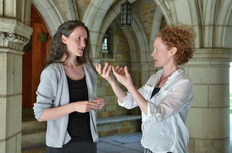 """Sarah Demers, left, and Emily Coates authored """"Physics & Dance."""" Photo: Contributed Photos"""
