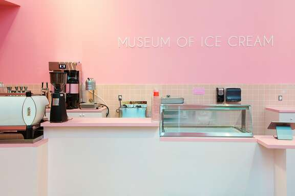 Museum of Ice Cream serves scoops and drinks at its new Cafe 1905C.