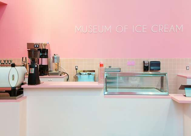 Museum of Ice Cream opens its first scoop shop with adults-only bar on the way