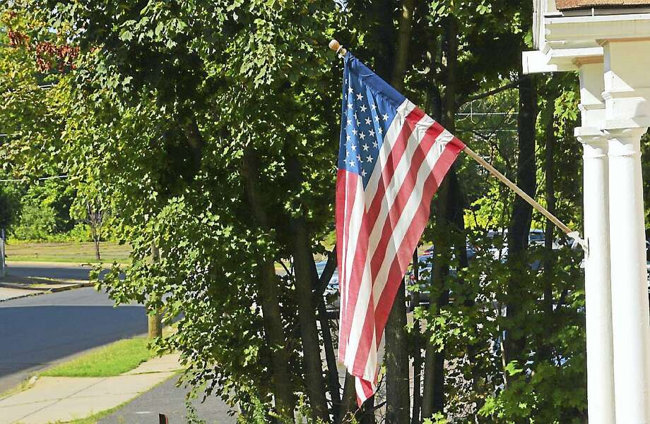 The Middlesex Chamber of Commerce, Central Business Bureau and the downtown business community are seeking American flag sponsors for the 2019 season. Photo: File Photo / Hearst Connecticut Media