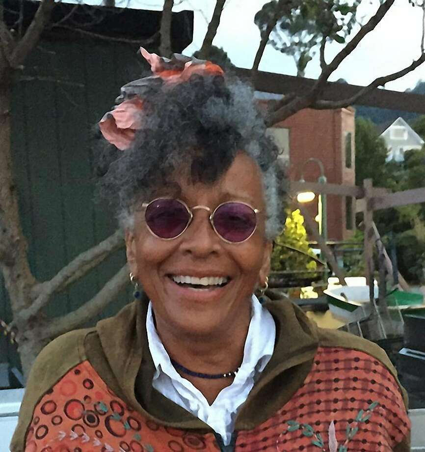 Steefenie Wicks, a well-known figure in Sausalito, died aboard her boat at Galilee Harbor. Photo: Courtesy James Byers