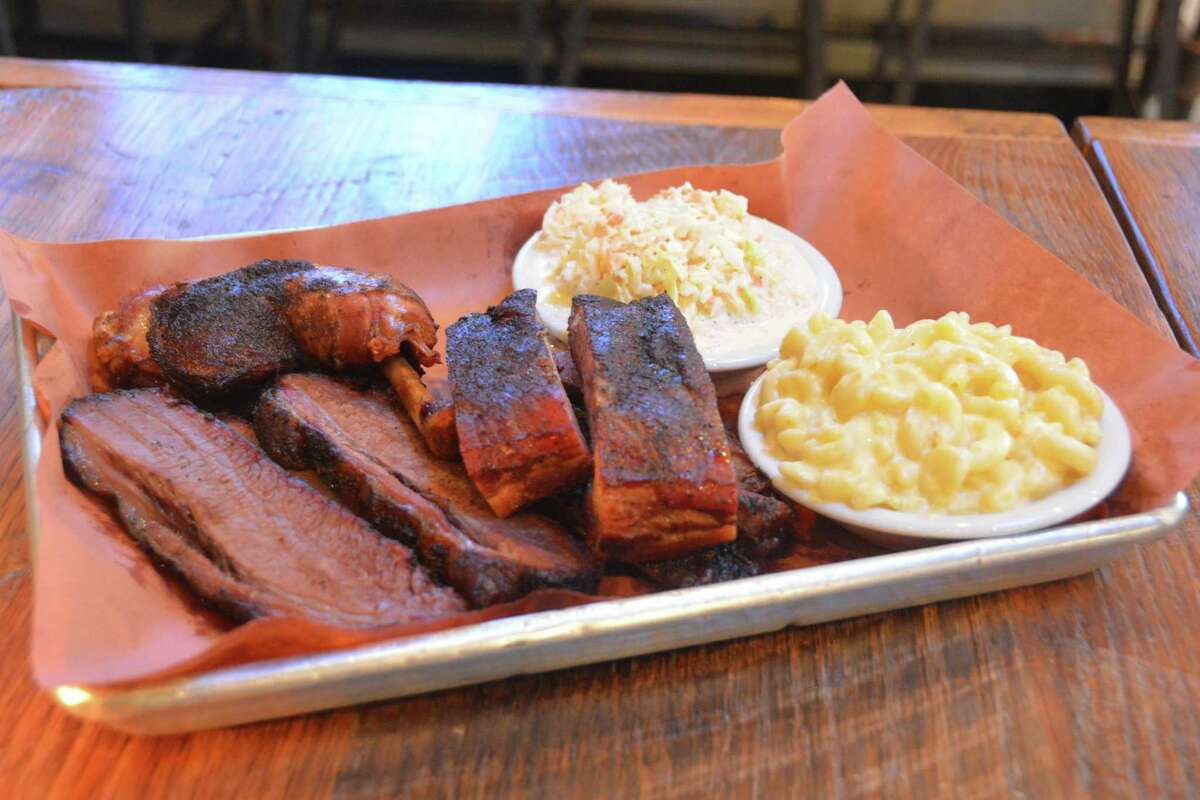 Ribs from Judy's Bar & Kitchen in Stamford.