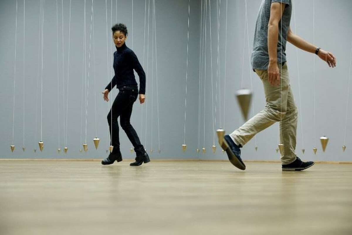 """William Forsythe's """"Nowhere and Everywhere at the Same Time, No. 3"""" will fill the Museum of Fine Arts, Houston's Cullinan Hall this summer."""