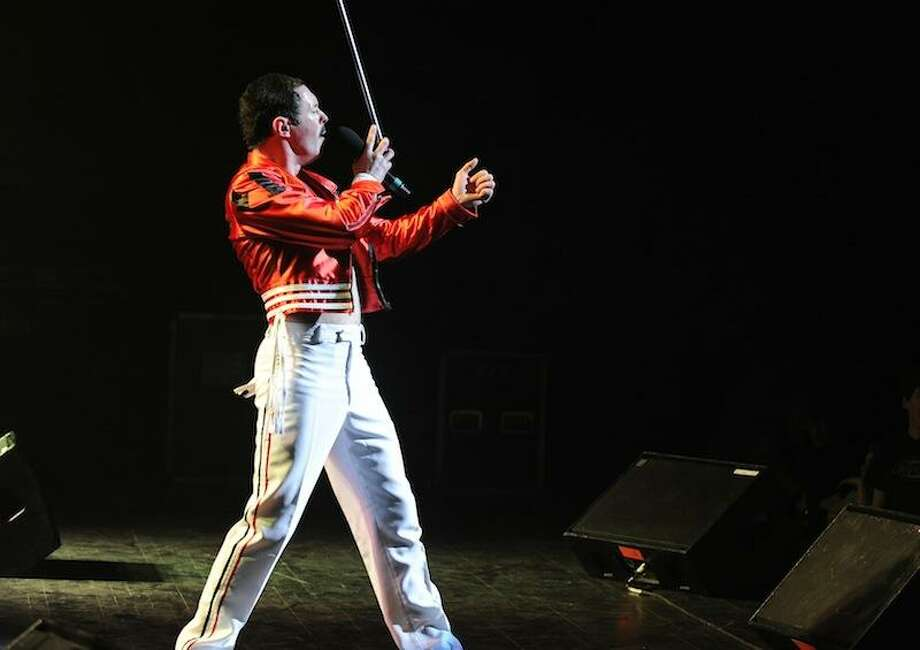 """One Night of Queen,"" a show saluting the famed rockers, will be performed by Gary Mullen & The Works at the Stamford Palace April 8. The band is headed by Freddie Mercury imitator Gary Mullen, above. Photo: Alissa Behn / Contributed Photo / Property of A.BehnCopyright 2010"
