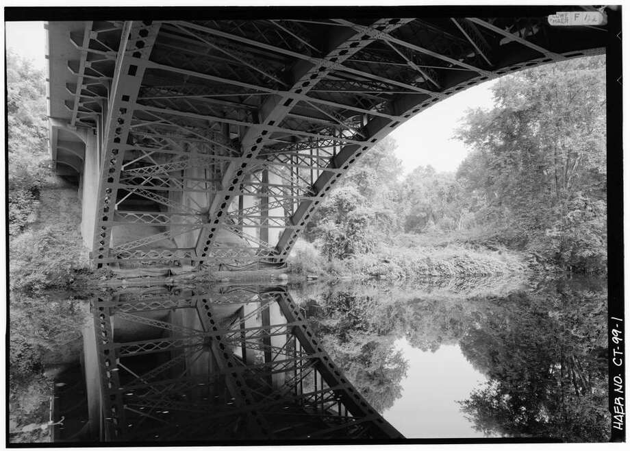"The Library of Congress website houses this historic photo of the Merritt Parkway Saugatuck River Bridge, which was named to the American Road & Transportation Builders Association 2019 list of ""structurally deficient"" bridges in the U.S. Photo: Contributed / Contributed Photo / Westport News contributed"