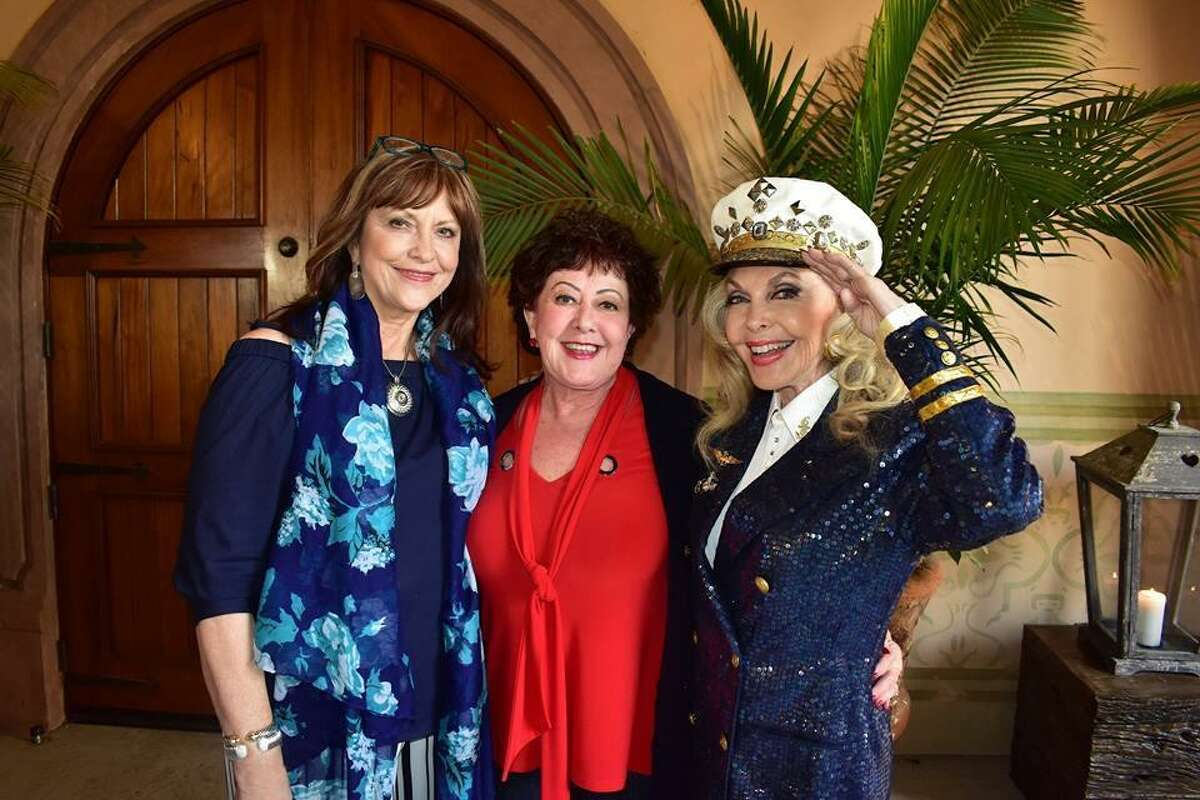 """From left Amy Sowers, Marion Franke and Lyn Howard were the organizers for the first Crighton Theatre benefit """"Anchors Aweigh"""" which took place on March 28 at Madera Estates in Conroe. The venue was generously donated for the event by owners Larry and Kim Austin. The successful fundraiser was sold out and more than $120,000 was raised to help in renovations and restorations for the 83-year-old historic Crighton Theatre in downtown Conroe. For more information on the Crighton Theatre, visit www.crightontheatre.org."""