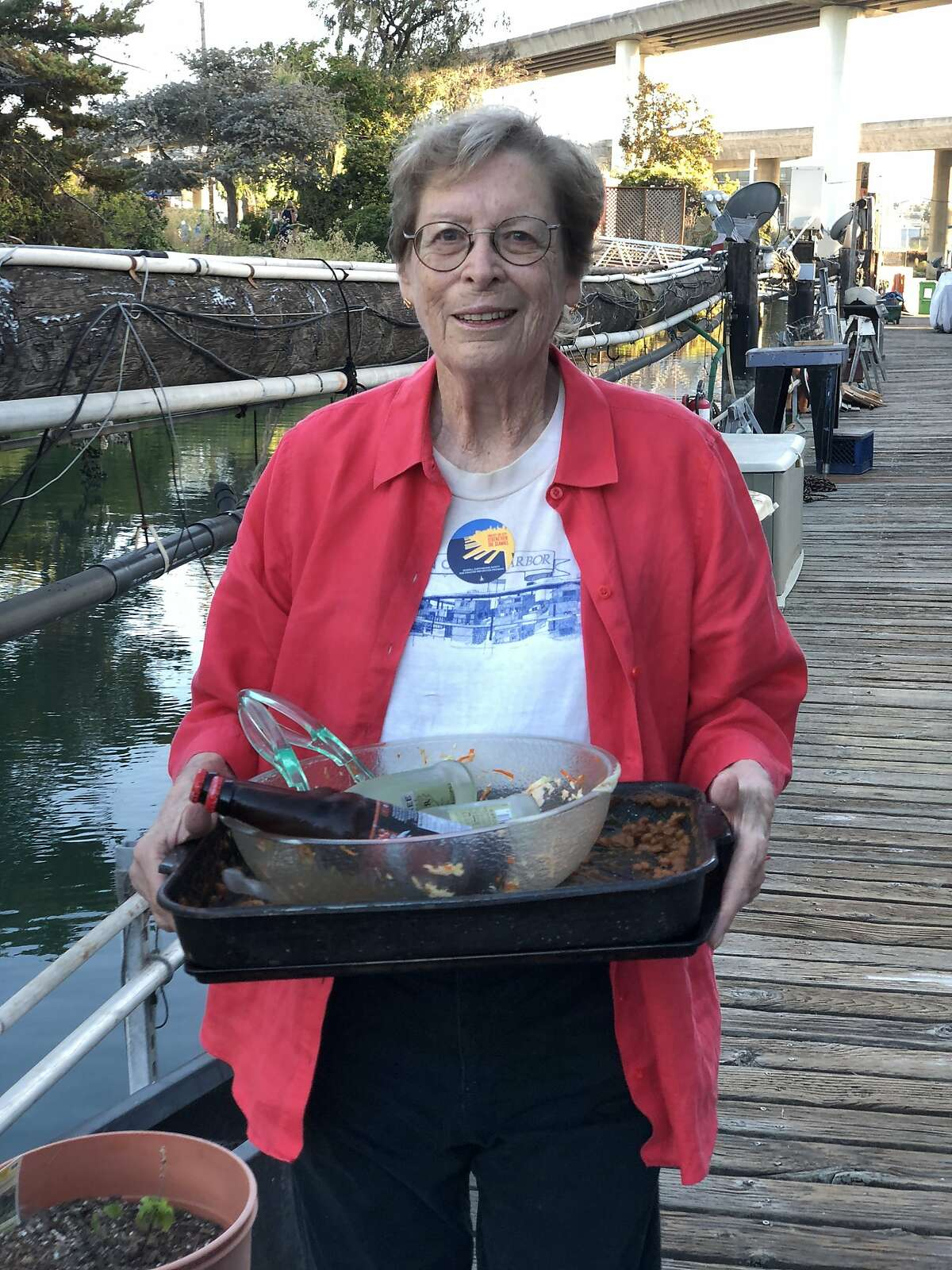 Corinne Woods, a longtime advocate for Mission Bay, died on April 1, 2019.