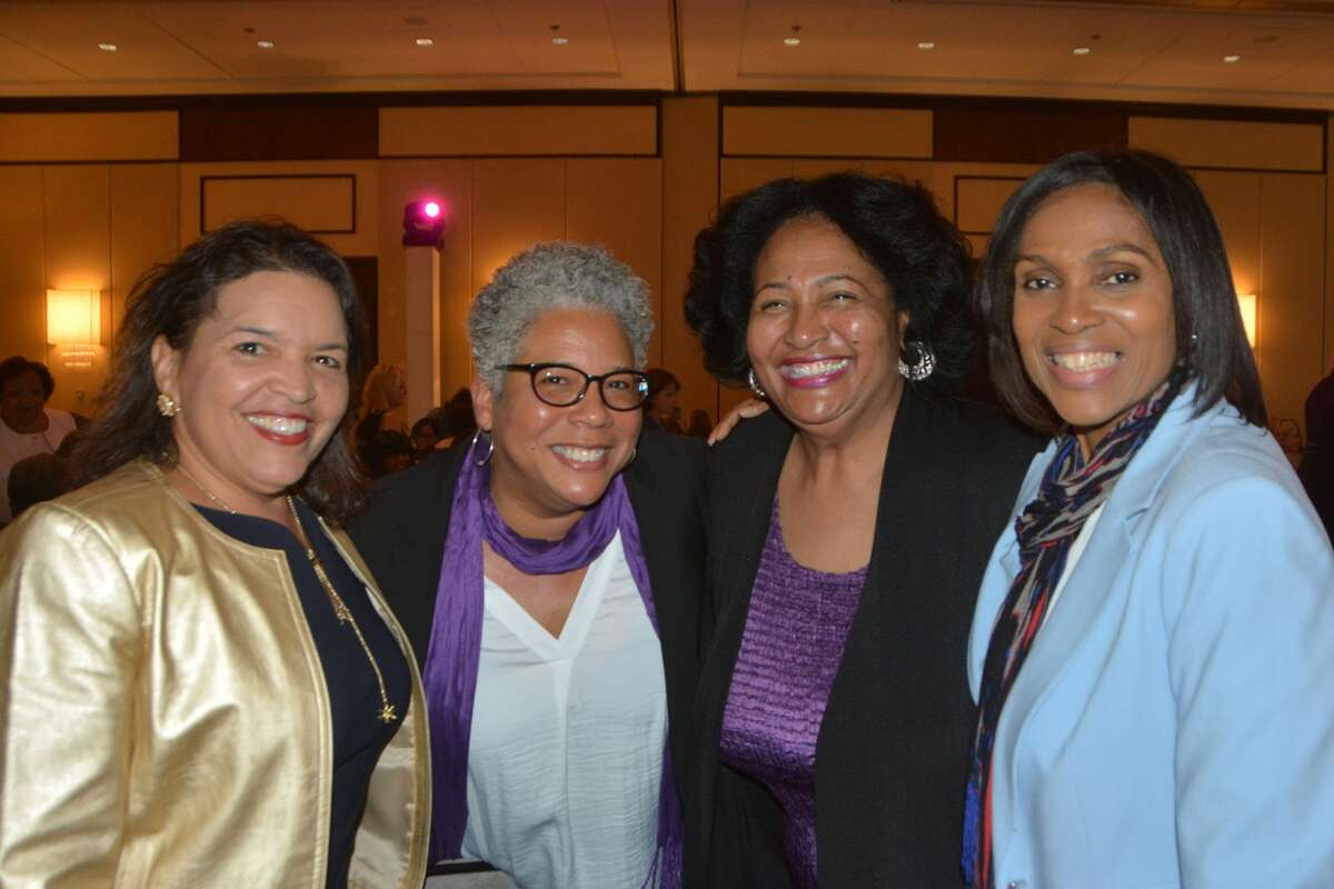 The Fairfield County Community Foundation held its annual Fund for Women and Girls Luncheon on April 4, 2019 at the Greenwich Hyatt. The keynote speaker was actress and activist, Tracee Ellis Ross, known for roles on the sitcoms
