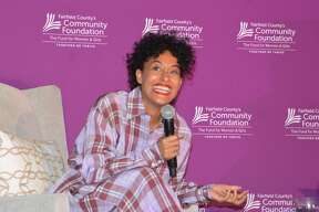 """The Fairfield County Community Foundation held its annual Fund for Women and Girls Luncheon on April 4, 2019 at the Greenwich Hyatt. The keynote speaker was actress and activist, Tracee Ellis Ross, known for roles on the sitcoms """"Black-ish"""" and """"Girlfriends."""" Were you SEEN?"""