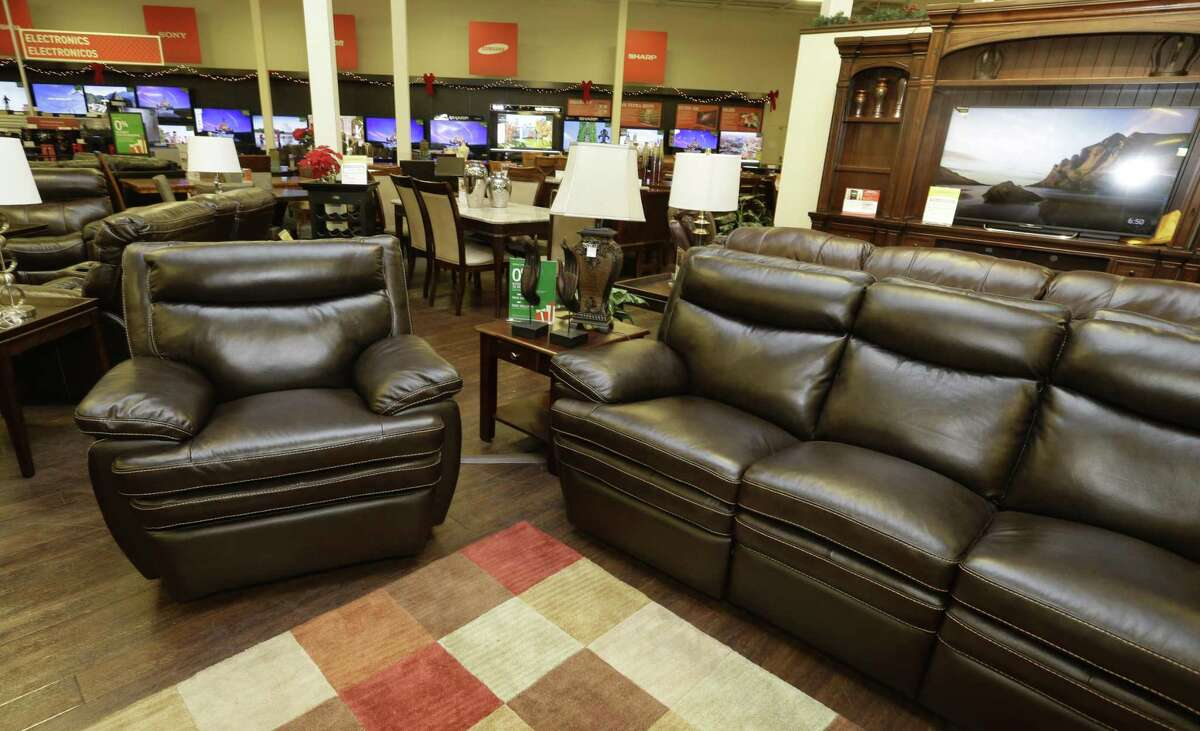 A view of the showroom at Conn's HomePlus, 4446 North Freeway, is shown Monday, Nov. 9, 2015, in Houston. ( Melissa Phillip / Houston Chronicle )