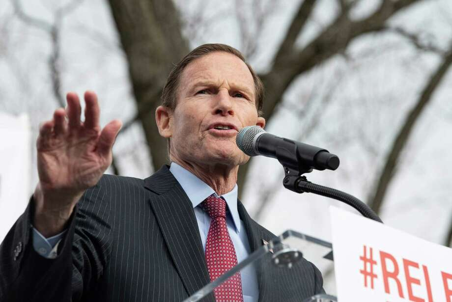 U.S. Sen. Richard Blumenthal, D-Conn Photo: Nicholas Kamm / Getty Images / AFP or licensors