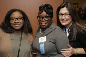 """The Kennedy Center's 68th Annual Meeting and Awards Dinner was held April 4, 2019 atthe Bridgeport Holiday Inn. The eventcelebrated """"The Power of Purpose"""" withKeynote Speaker and International AdvocateJohn D. Kemp, Esq.Were you SEEN?"""
