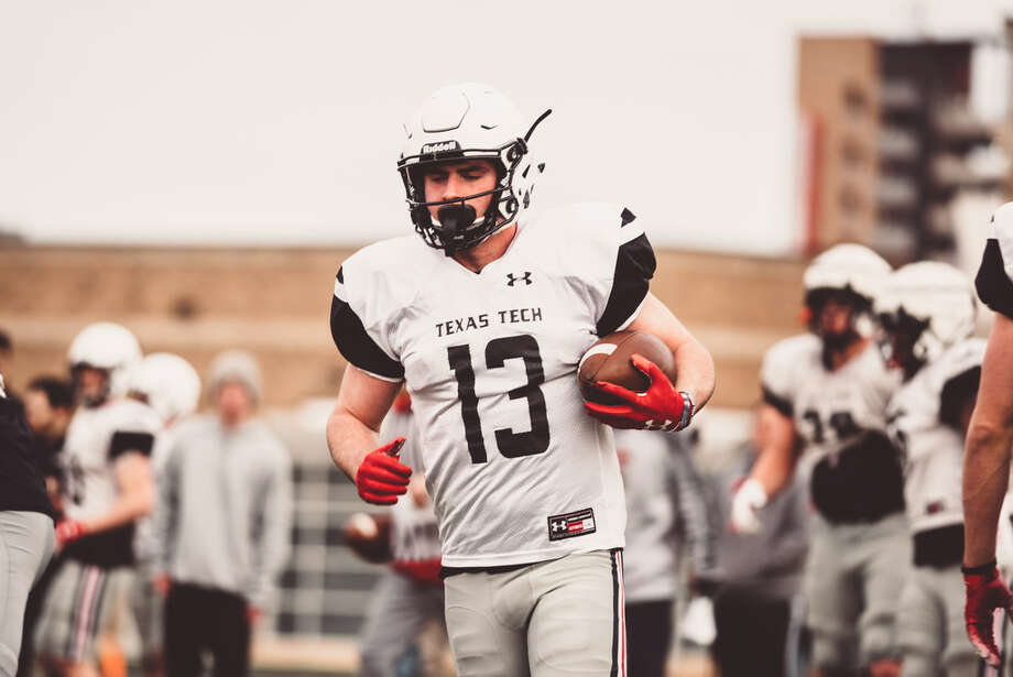 Texas Tech wide receiver McLane Mannix is shown here during a recent practice. Photo courtesy of Texas Tech athletics Photo: Texas Tech Athletics