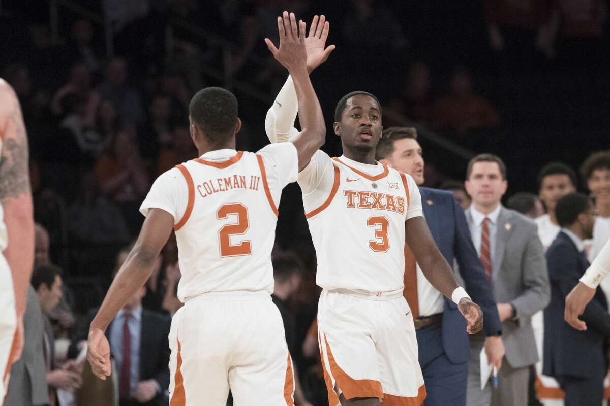 Matt Coleman and Courtney Ramey represent two-thirds of Texas' veteran triumvirate expected to lead the Longhorns this season.