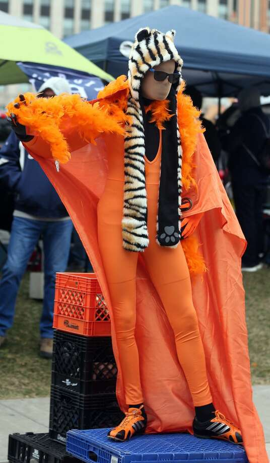 Detroit Tigers Opening Day 2019 Photo: Paul P. Adams/Huron Daily Tribune