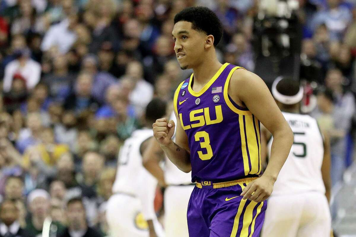 LSU's Tremont Waters, a New Haven native, was drafted 51st overall by the Boston Celtics.