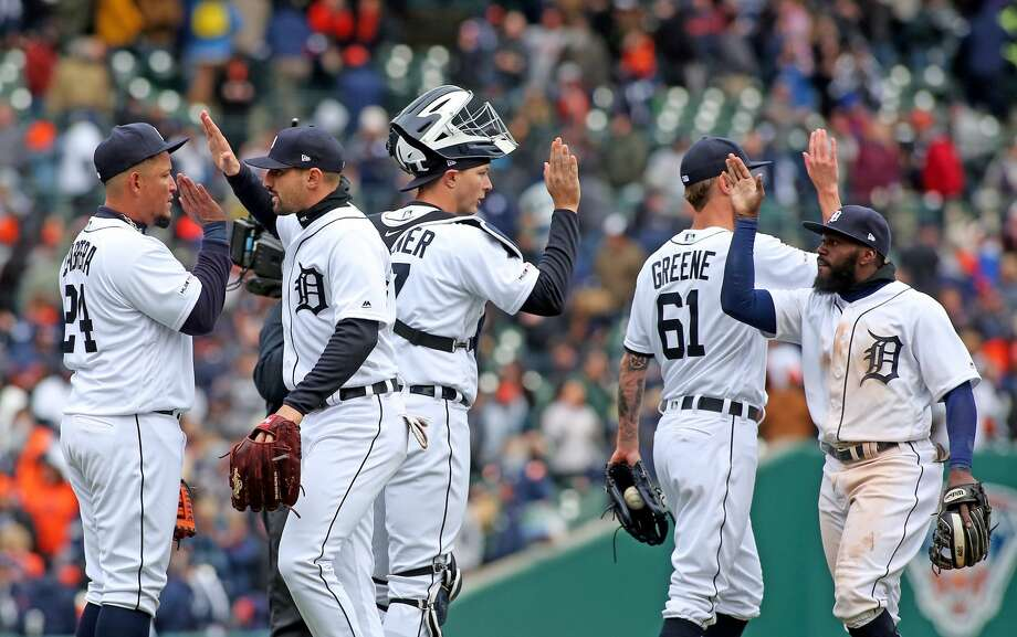Detroit Tigers Opening Day 2019 Photo: Paul P. Adams/Huron Daily Tribune