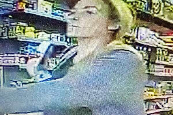 The Danbury Police Department is requesting the public's help in identifying a suspect in a vehicle burglary. At approximately 7 p.m. on Thursday, April 4, 2019, a vehicle was burglarized at a business located in the area of Backus and Kenosia avenues. The female in photos released by police is wanted for questioning regarding the use of a credit card taken from the vehicle.