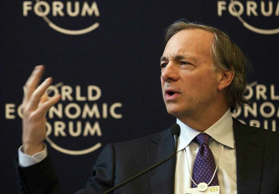 Ray Dalio, founder and co-chief investment officer of Bridgewater Associates, USA, joined his wife Barbara on Friday to announce a five-year $100-million donation to educate high schoolers for the next generation of jobs for those not college-bound. Photo: Anja Niedringhaus / Associated Press / AP