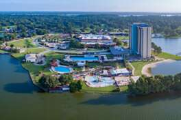 A new Margaritaville Resort will open along Lake Conroe in the third quarter of 2020.