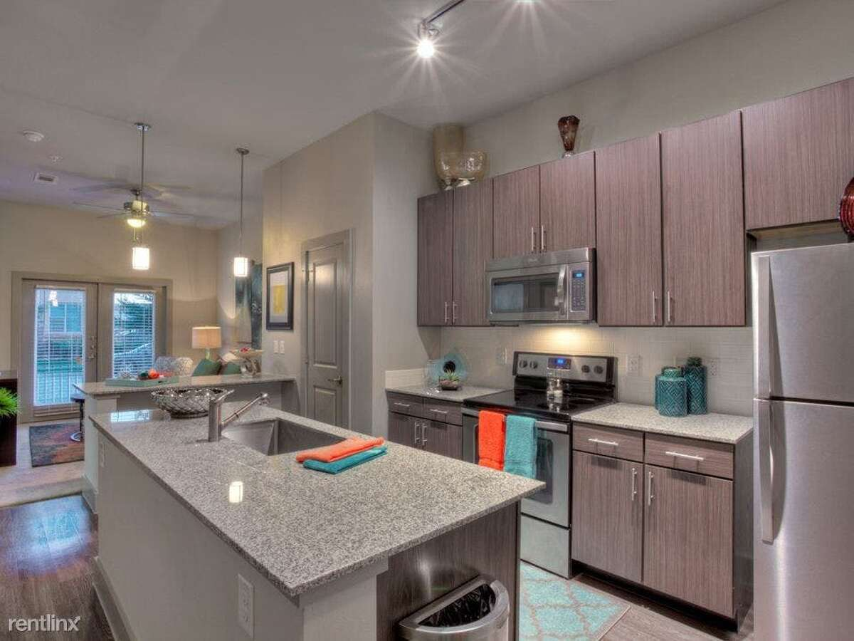 Here's a one-bedroom, one-bathroom condo at 1601 S. Shepherd Drive, #5531, which is going for $1,000/month. The unit offers stainless steel appliances and a kitchen island. Cats and dogs are not allowed. There's no leasing fee required for this rental. (Check out the listinghere.)