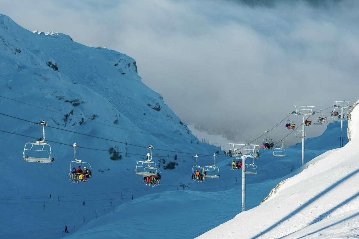 Glacier Chair on Blackcomb Mountain