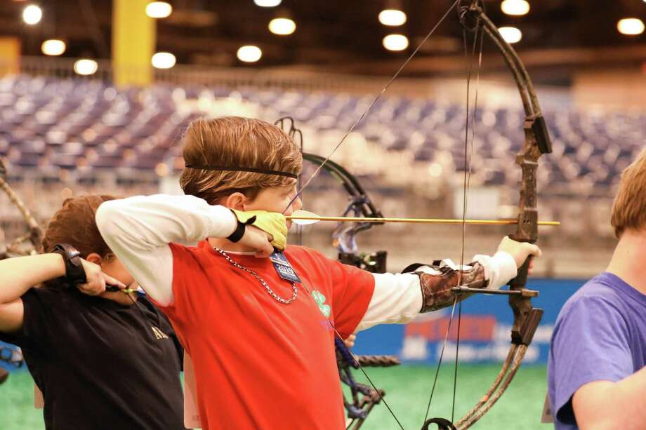 Eighth grade Lynn Lucas Middle School student Landon Morgan won Grand Champion Junior NASP. Photo: Submitted Photos / Submitted Photos