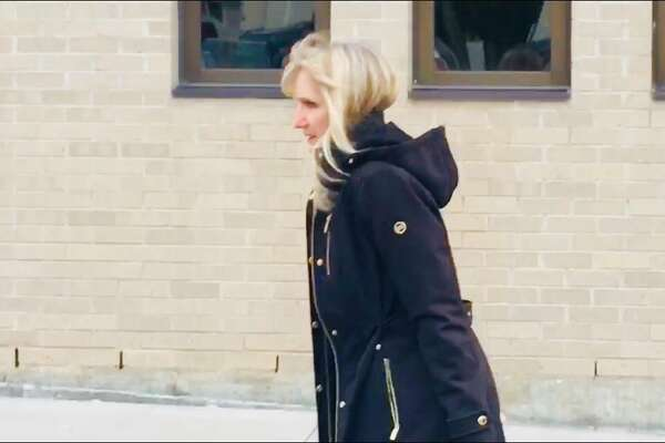 Schoharie County District Attorney Susan Mallery arrives at the Schoharie County Courthouse where a grand jury on Friday was expected to hear evidence in the deadly Oct. 6 limousine crash that killed 20 people in Schoharie.