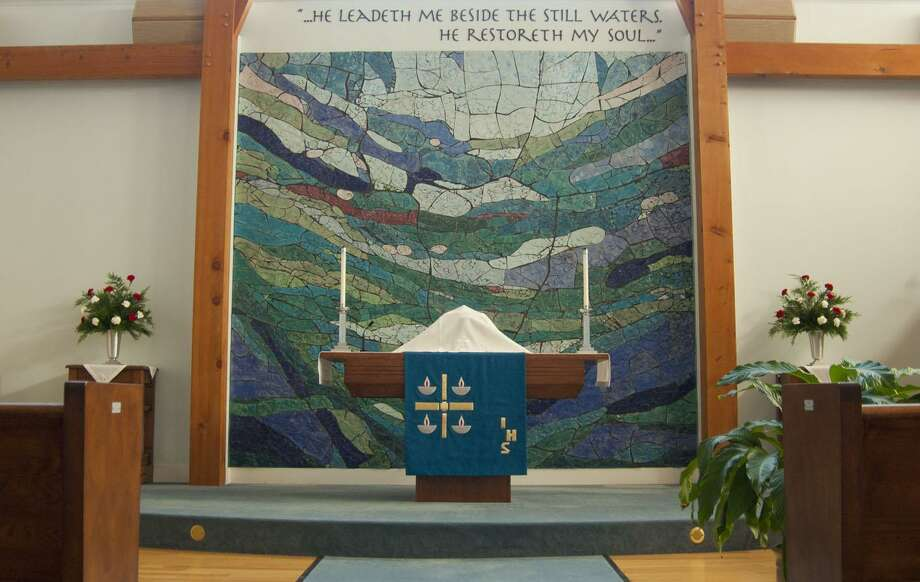 The Lutheran Church of Madison, located at 9 Britton Lane, kicks off its 70th anniversary Saturday, April 6, 2019, 3-5 p.m. with an open house to showcase its renovated facility, with displays that highlight the church's programs and activities. Photo: Contributed Photo