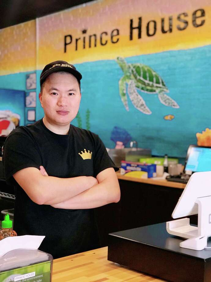 Prince House owner Ivan Lin, who owns Zero Degree, a Thai ice cream shop at 312 Main St., Middletown, in Metro Square, recently launched the poke bowl restaurant at 116 Court St. Photo: Contributed Photo