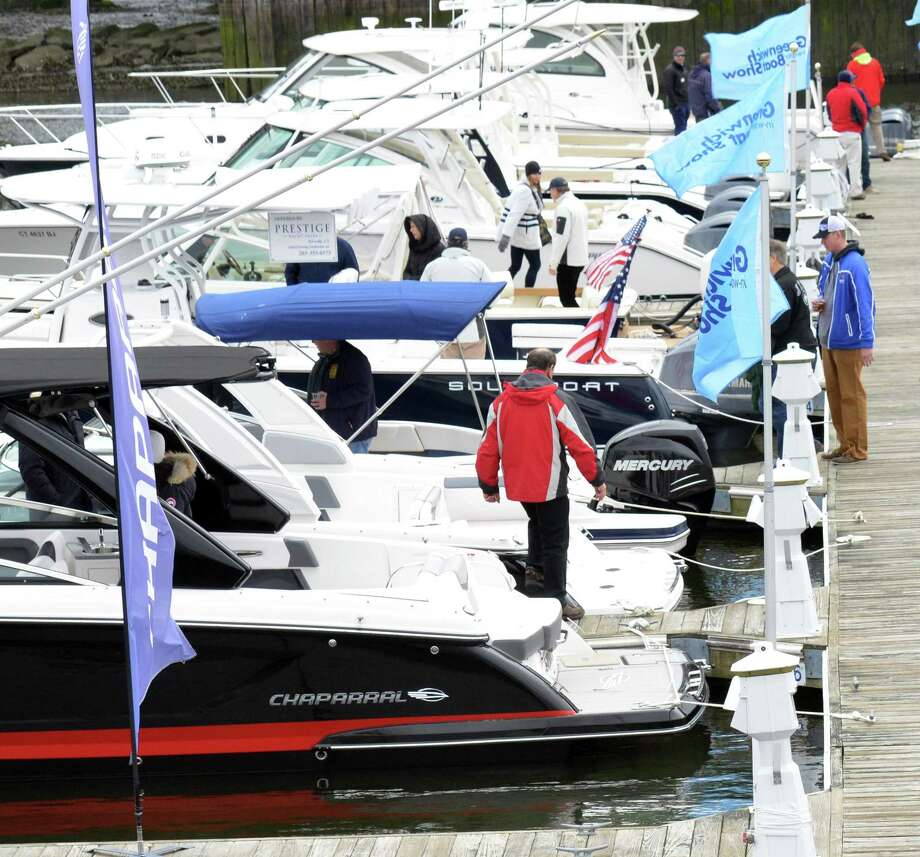 The annual Greenwich Boat Show will show be held from 10 a.m. to 4 p.m. Saturday and Sunday at 49 River Road in Cos Cob. The free event will include sea-trials on Long Island Sound of boats and yachts from 24 dealers representing 57 boat manufacturers. For more info, visit greenwichboatshow.com. Photo: File / Hearst Connecticut Media / Greenwich Time